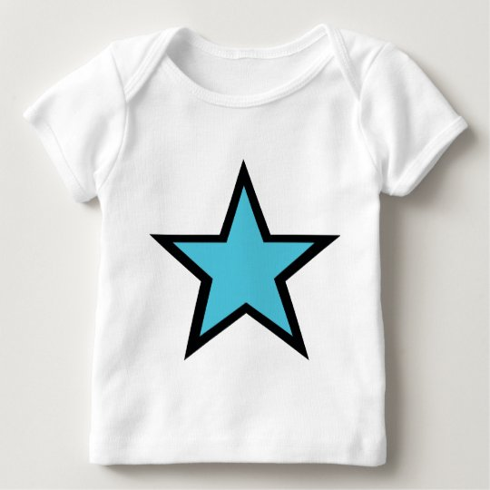Blue Star design! Baby T-Shirt