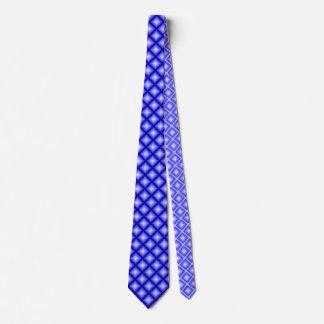 Blue Star Diamond Geometrical Neck Tie