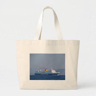 Blue Star Ferry Large Tote Bag