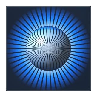 Blue Star Globe