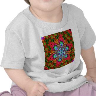 Blue Star Kaleidiscope T-shirt
