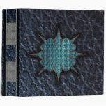 blue star leather binder