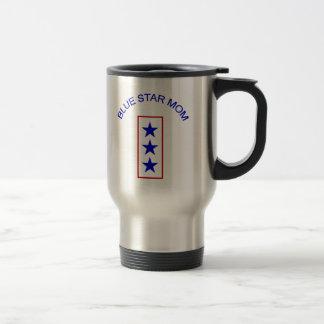 Blue Star Mom 3 Travel Mug