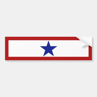 Blue Star Mom Bumper Sticker