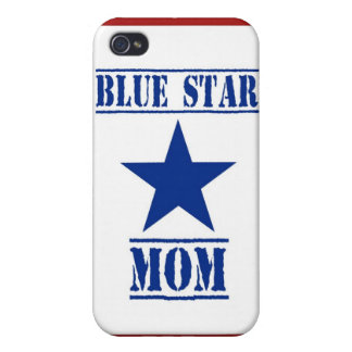 Blue Star Mom Military Case For iPhone 4