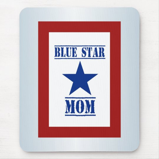 Blue Star Mom Military Mouse Pad