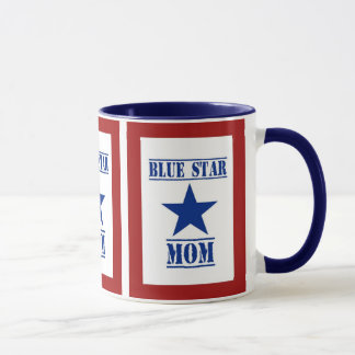 Blue Star Mom Military Mug