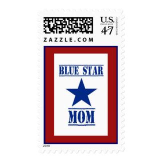 Blue Star Mom Military Postage Stamp