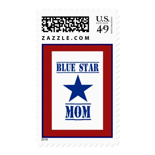 Blue Star Mom Military Postage Stamps