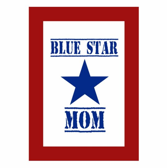 Blue Star Mom Military Statuette