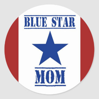 Blue Star Mom Military Stickers