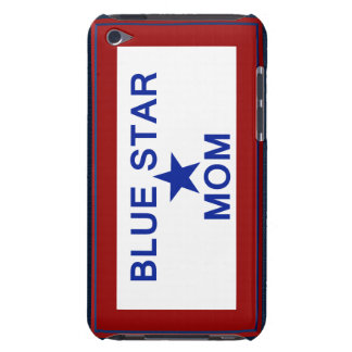 Blue Star Mom Patriotic Military Family iPod Touch Case