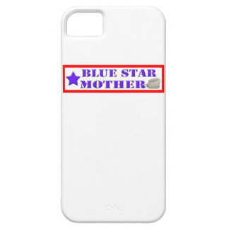 Blue Star Mother - 1 Star IPhone 5 Case