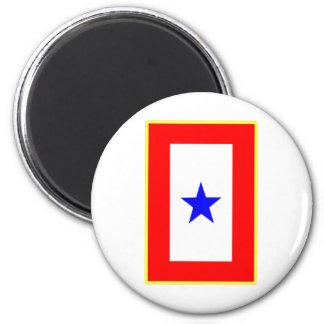 Blue Star Mother 2 Inch Round Magnet