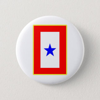 Blue Star Mother Button