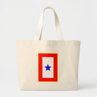 Blue Star Mother Large Tote Bag