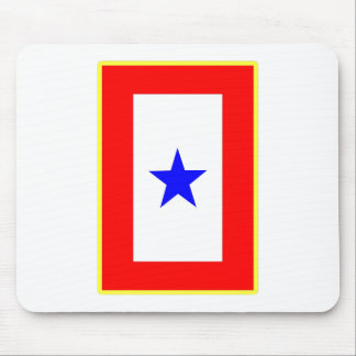 Blue Star Mother Mouse Pad