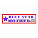 Blue Star Mother Postcard