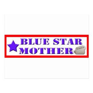 Blue Star Mother Postcard