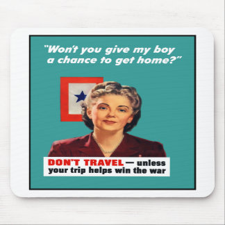 Blue Star Mother -- World War II Mouse Pad