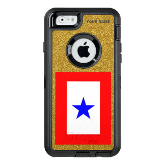 BLUE STAR MOTHERS OtterBox DEFENDER iPhone CASE