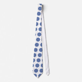 blue star neck tie