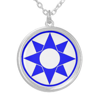 Blue Star of Ishtar Pendant