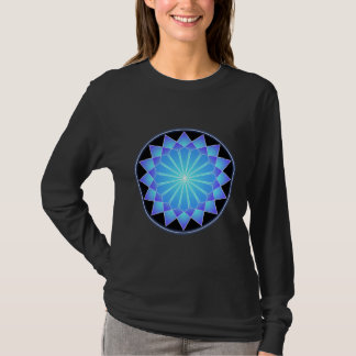 Blue Star (on black) T-Shirt