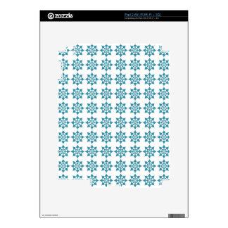 Blue Star Pattern iPad 2 Decals