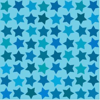Blue Star Pattern Statuette