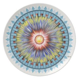 Blue Star Plate