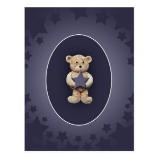 Blue Star Postcard