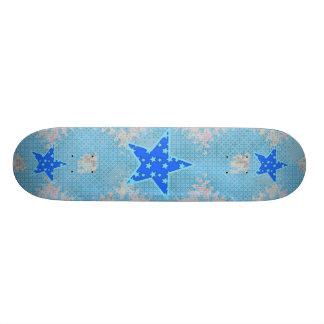 Blue Star Skateboard