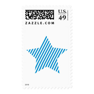 Blue star stamps