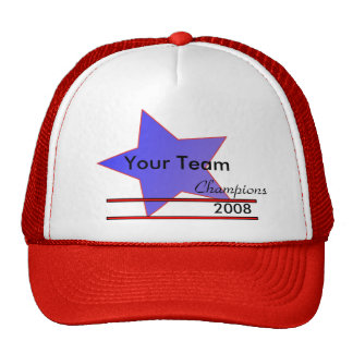 Blue Star Team Champions Hat