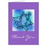 Blue Star Thank You Card 2