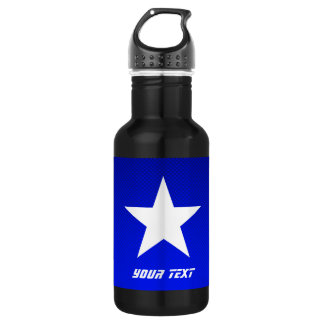Blue Star Water Bottle