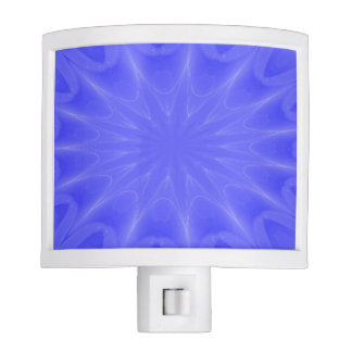 Blue Starburst Night Light