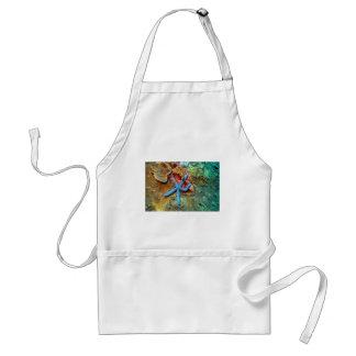 Blue starfish coral sea adult apron