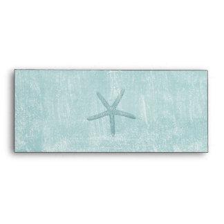 Blue Starfish Envelope