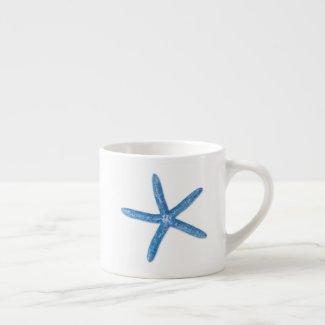 Blue Starfish Espresso Cup