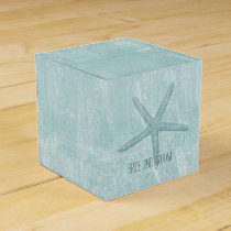 Blue Starfish Favor Box