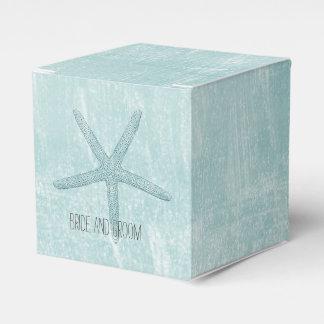 Blue Starfish Favor Box