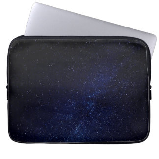Blue starry sky computer sleeve