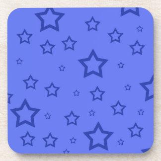 Blue Stars Coaster