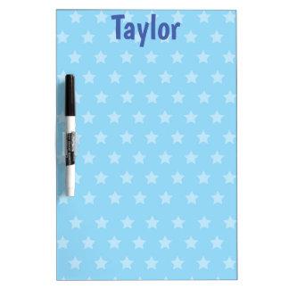 Blue Stars Delight Dry-Erase Board