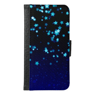 Blue Stars Dream - Galaxy S6 Wallet Case