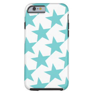 BLUE STARS (GEOMETRIC PATTERN) iPhone 6 Case