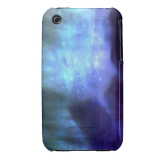 Blue stars in space iPhone 3 cases
