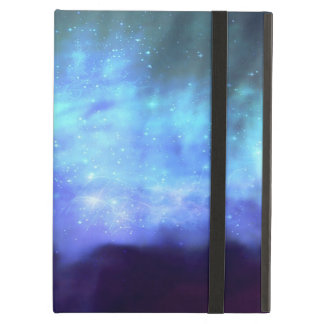 Blue stars in space cover for iPad air